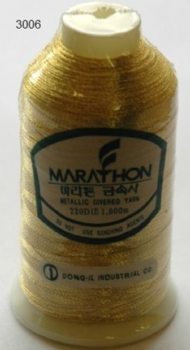 Marathon Rayon Embroidery Machine Thread Metallic - 3006